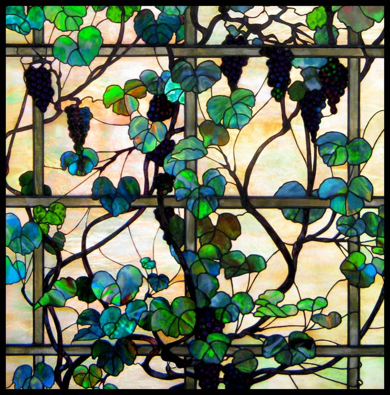 Tiffany Stained Glass : Louis comfort tiffany glass on pinterest