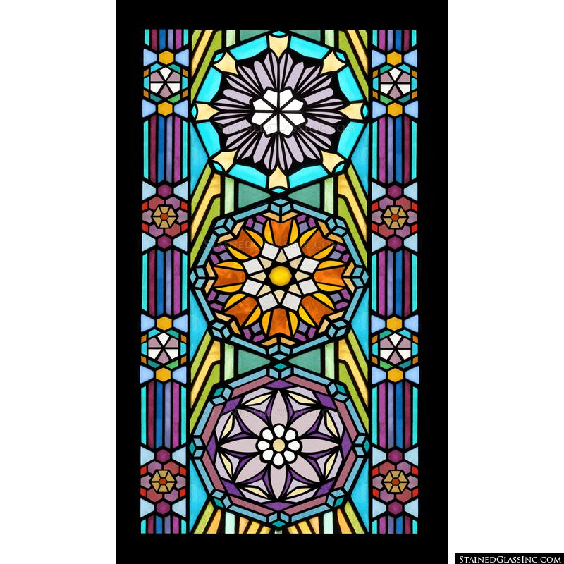 Stained Glass Windows By Frank Lloyd Wright About
